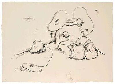 Claes Oldenburg, 'Soft Drum Set', 1972