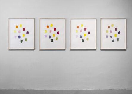 Spencer Finch, 'Still Life (Bouquet) morning effect, noon effect, afternoon effect, evening effect ', 2019