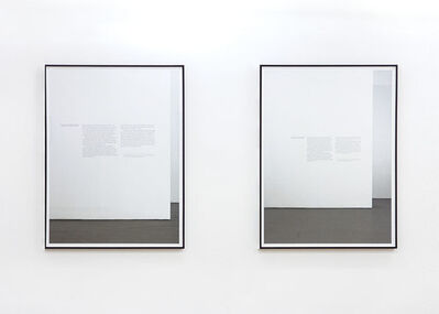Alejandro Cesarco, 'Words with Ruscha', 2014
