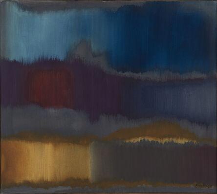 Fritz Winter, 'Grau-Blau', 1964