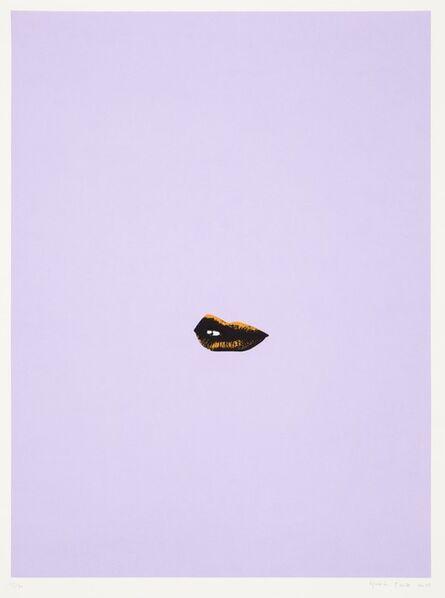 Gavin Turk, 'Sneer (Lilac)', 2013