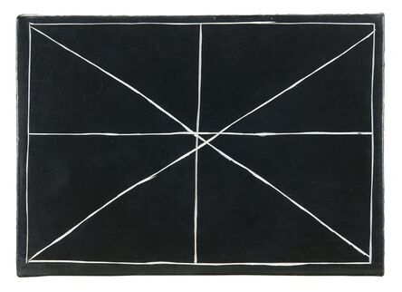 Bob Law, 'Splitting a Double Cross 28.01.00', 2003