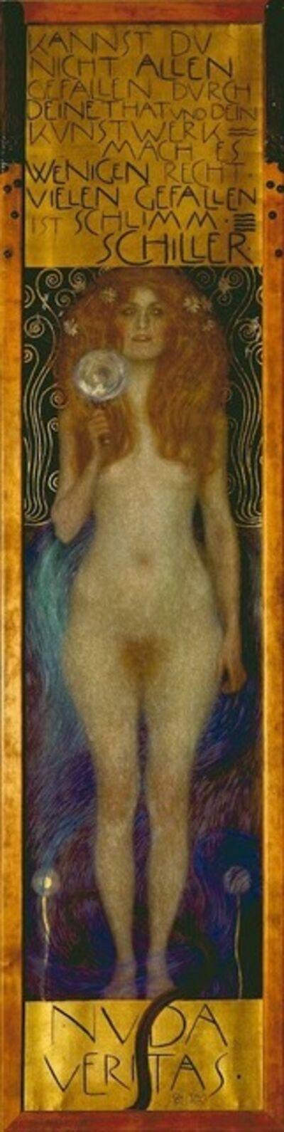 Gustav Klimt, 'Nuda Veritas', 1897