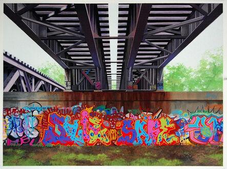 Jessica Hess, 'Pittsfield Tracks III', 2012