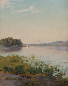 Walter Launt Palmer, 'Summer on the Hudson'