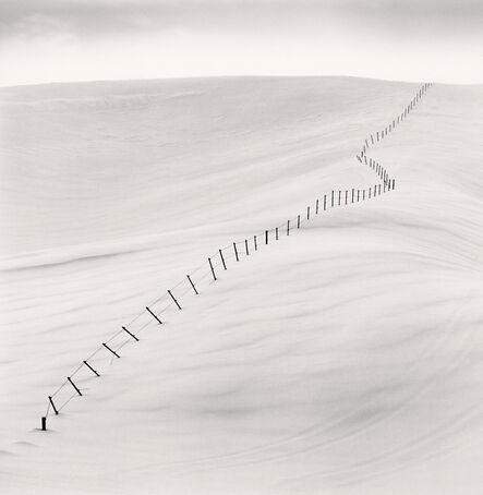 Michael Kenna, 'Hillside Fence, Study 7, Teshikaga, Hokkaido', 2004