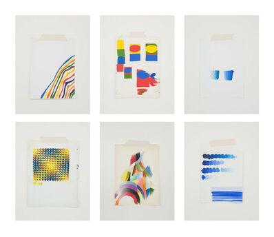 Mauro Piva, 'Homenagem - Teste de cores imaginário', 2017