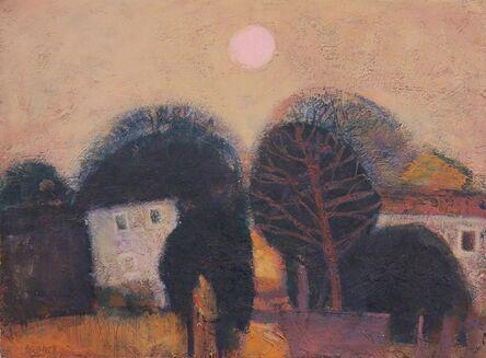 Michael Bennett (1934-2016), 'Cottages West Cumbria ', ca. 2010