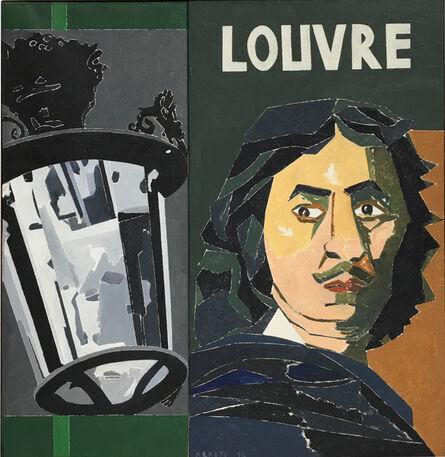 Eduardo Arroyo, 'Poussin au Louvre', 2016