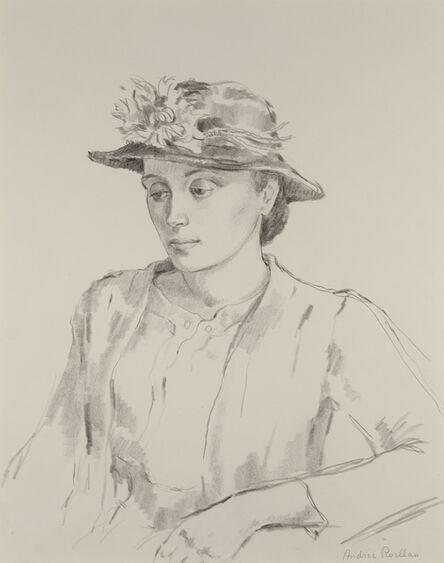 Andree Ruellan, 'Young Woman'