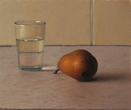 Aram Gershuni, 'Glass of Water and Pear', 2013