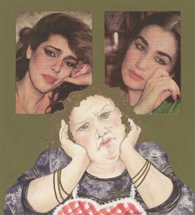 Gülsün Karamustafa, 'BANKER KASTELLI NE YAPTIN BİZE / KASTELLI THE BANKER WHAT HAVE YOU DONE TO US', 1981