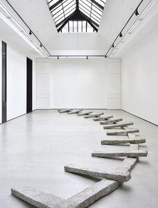 Richard Nonas, '(PARENTHESIS) (LEFT TOP)', 2013-2019