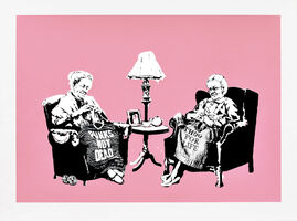 Banksy, 'Grannies - Unsigned ', 2006