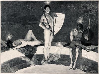 Sascha Schneider, 'Die Genien Der Geschichte', 1894-1895