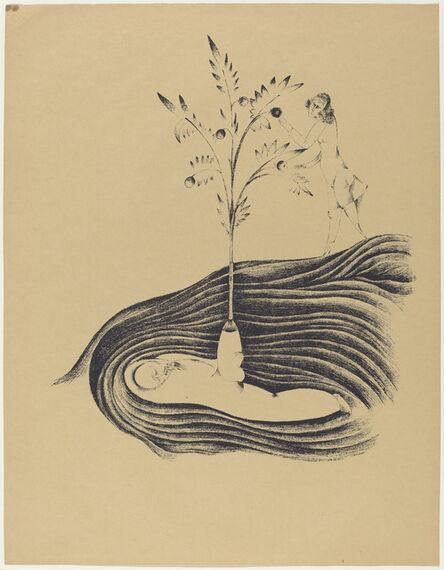 Heinrich Hoerle, 'Freundlicher Träum (Friendly Dreams)', 1920