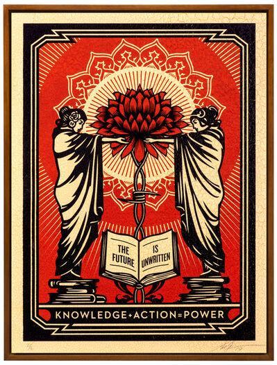 Shepard Fairey, 'Knowledge + Action', 2019