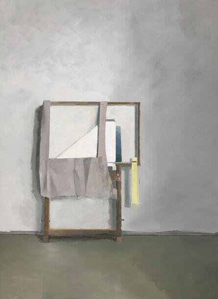 Jenny Brillhart, 'Arrangement with linen', 2018