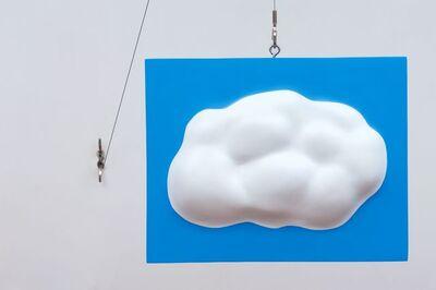 John Baldessari, 'Lead Cloud', 2017