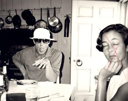 Andy Warhol, 'Andy Warhol, Photograph of Halston and Lesley Frowick circa 1980', 1980