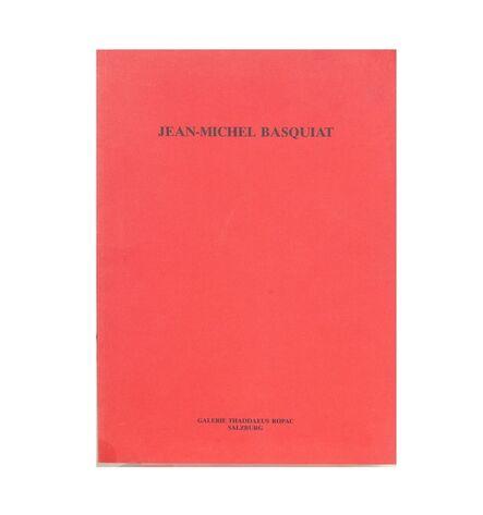 Jean-Michel Basquiat, 'Galeria Thaddaeus Ropac, Exhibition Catalogue', 1986