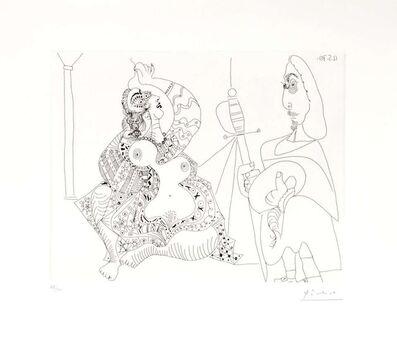 Pablo Picasso, '12.5.70 (12 Mai 1970)', 1970