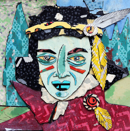 Bill Miller, 'Young Geronimo', 2017
