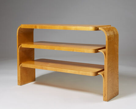 Alvar Aalto, 'Rare shelf', 1933