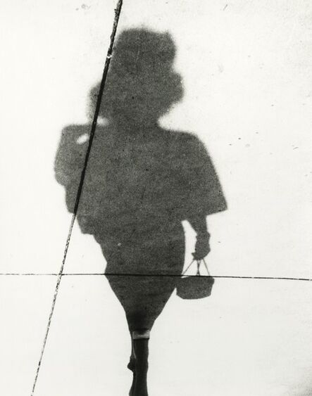 Marvin E. Newman, 'Woman in High Heels with Purse, Shadow Series, Chicago', 1951