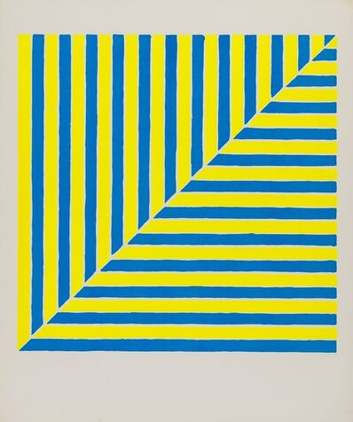 Frank Stella, 'Untitled (Rabat) (Axsom 00 / 1A) (from Ten Works by Ten Painters)', 1964