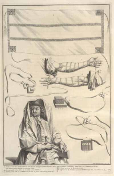 Bernard Picart, 'Tallit, Tzitzit, Tefillin, and Some Other Customs of Prayer', 1723