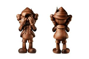 KAWS, 'Pinocchio by Kaws in Wood (by Karimoku)', 2018