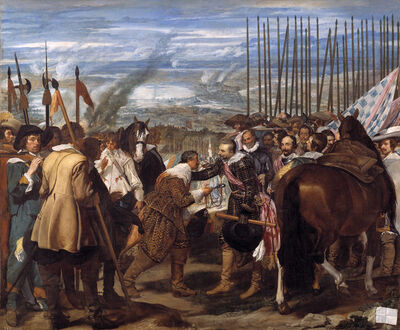 Diego Velázquez, 'The Surrender of Breda or The Lances', 1635