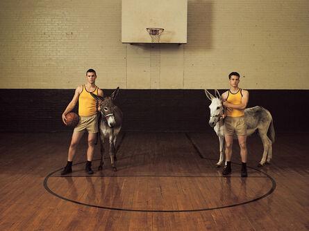 Luke Smalley, 'Donkey Basketball', 2007