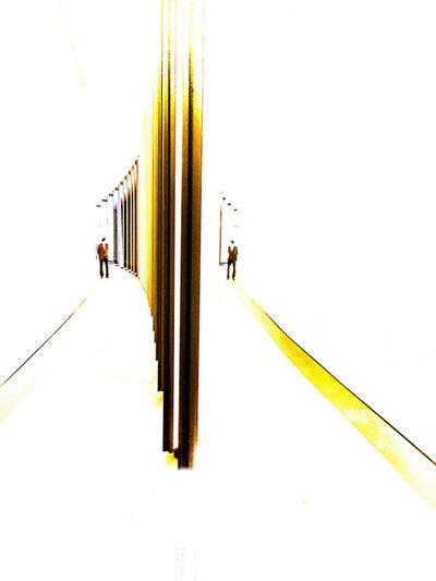 Myra Hafetz, 'Two Men 1', 2017
