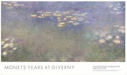 Claude Monet, 'Water Lilies (Nympheas)', 1997