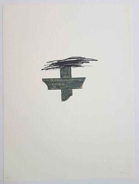 Antoni Tàpies, 'Llambrec-1', 1975