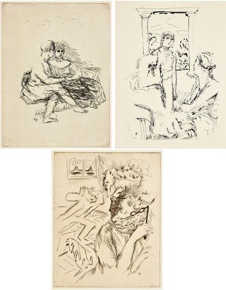 Pierre Bonnard, 'La Vie de Sainte Monique', 1930