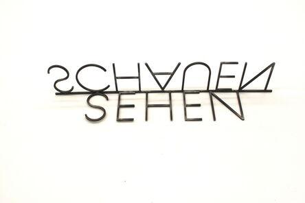 Michele Bernardi, 'Sehen Schauen', 2017