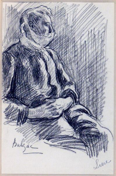 Maximilien Luce, 'Portrait d'Henri-Edmond Cross la tête bandée', 1907