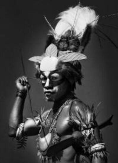 Sebastião Salgado, 'Hulli Man, Village of Hademari, Southern Highlands Province, Papua New Guinea', 2008