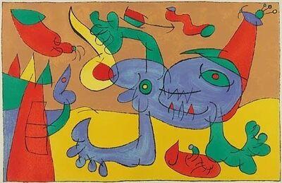 Joan Miró, 'V. Ubu Roi: Le Massacre du Roi de Pologne', 1966
