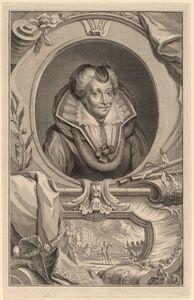 Jacobus Houbraken, 'Louise de Coligny'