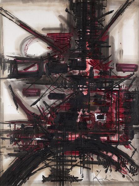 Georges Mathieu, 'Coquelicots', 1985