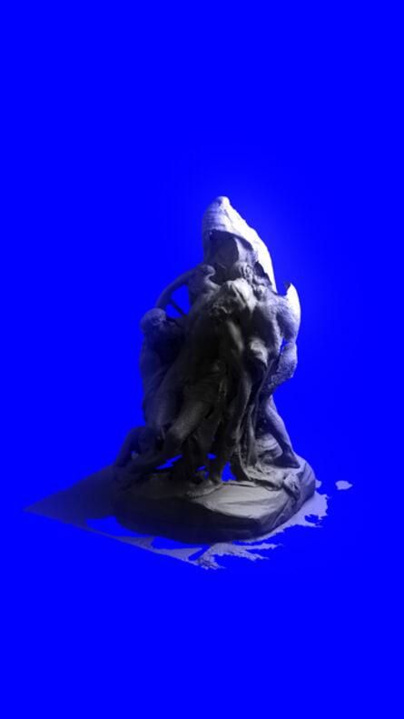 Cristóbal Cea, 'Descendimiento', 2018