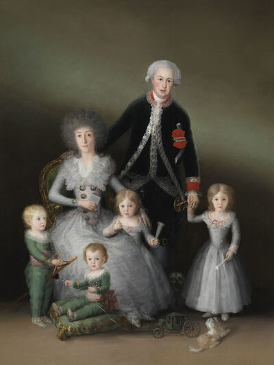 Francisco de Goya, 'The Duke and Duchess of Osuna and their Children', 1788