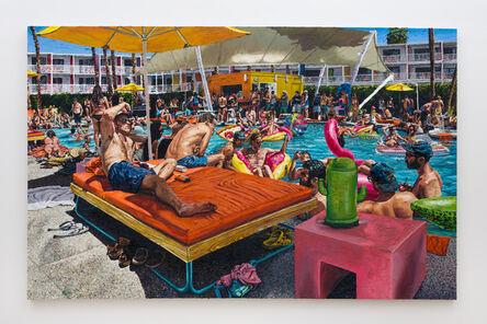 Joey Wolf, 'Swimming at The Saguaro', 2016