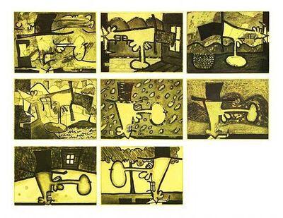 Carroll Dunham, 'Atmospherics', 2001-2002