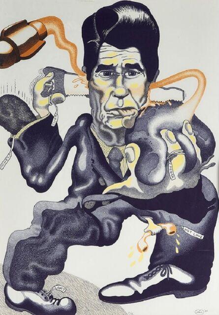 Peter Saul, 'Politics', 1985