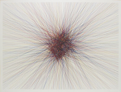 Kohei Nawa, 'Line – Random – CMY #3-1', 2013